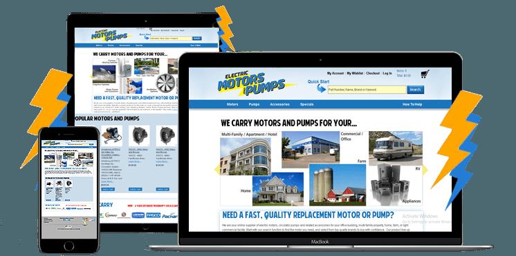 magento web design ecommerce