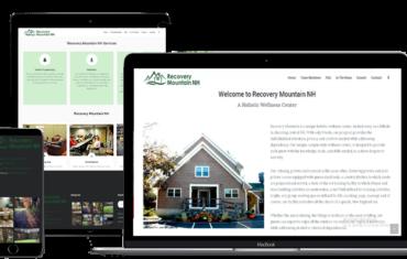 recovery center web design