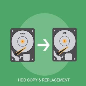 hdd copy service