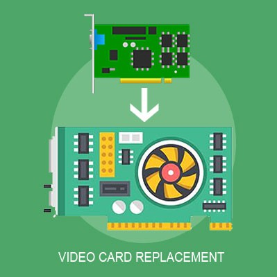 video card replacement