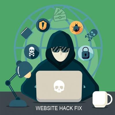 wordpress website hack fix